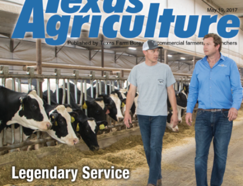 WHRL featured in this month's Texas Agriculture Magazine